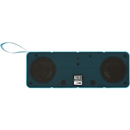 Altec Lansing Dual Driver Bluetooth Speaker, Blue