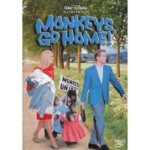 Monkeys go home (DVD)