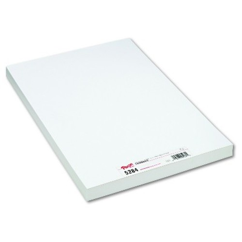 Pacon Medium Weight Tagboard, 18 x 12 - White (100 Per Pack)