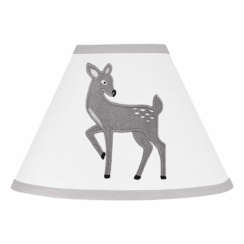 Sweet Jojo Designs Baby Girl or Boy Childrens Lamp Shade Forest Deer and Dandelion Collection
