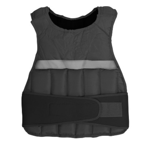 GoFit Weighted Vest - Black (10 lbs)