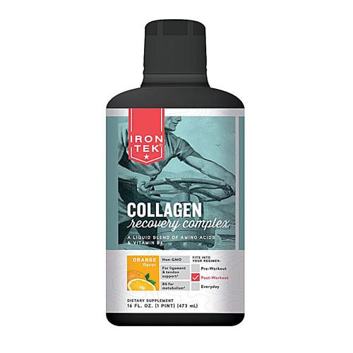 Iron-Tek Collagen Recovery Complex Orange -- 16 fl oz