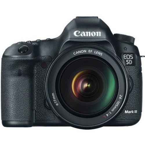 Canon EOS 5D Mark III DSLR Camera w/EF 24-105mm f/4 Lens W/Monitor /Printer IPS