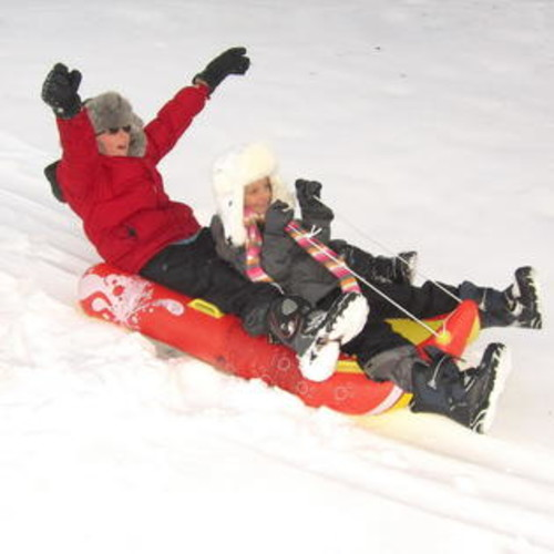 Blue Wave NW9010 Power Glider 2-Person Snow Sled
