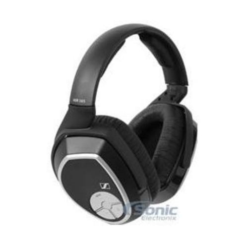 Sennheiser HDR 165 Headphone - Stereo - Black - Wireless - RF - 98.4 ft - 18 Hz 21 kHz - Over-the-head - Binaural - Circumaural - HDR165