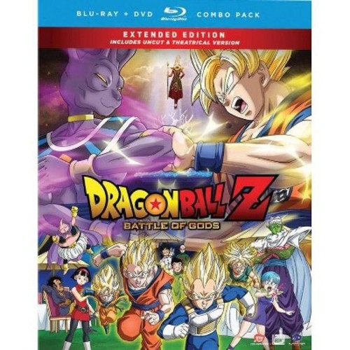 DragonBall Z: Battle of Gods [Uncut/Theatrical] [3 Discs] [Blu-ray/DVD]
