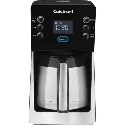 Cuisinart - Perfec Temp 12-Cup Thermal Coffeemaker DCC-2900 - Black, Stainless Steel