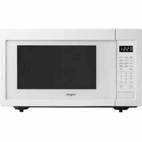 Whirlpool 1.6 cu. ft. Countertop Microwave with 1200-Watt Cooking Power - White