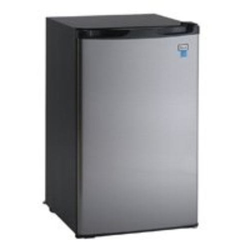 Avanti - 4.4 Cu. Ft. Mini Fridge - Stainless Steel
