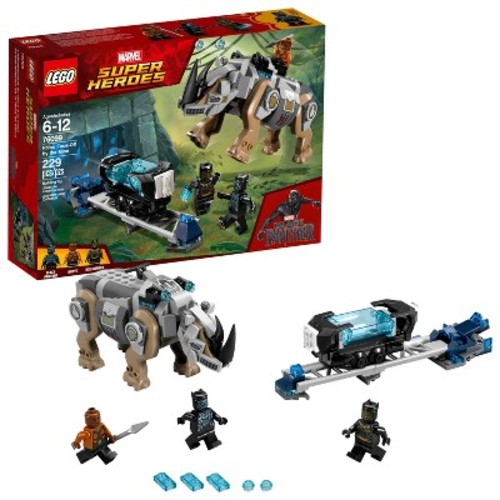 LEGO Super Heroes Marvel Rhino Face-Off by the Mine 76099