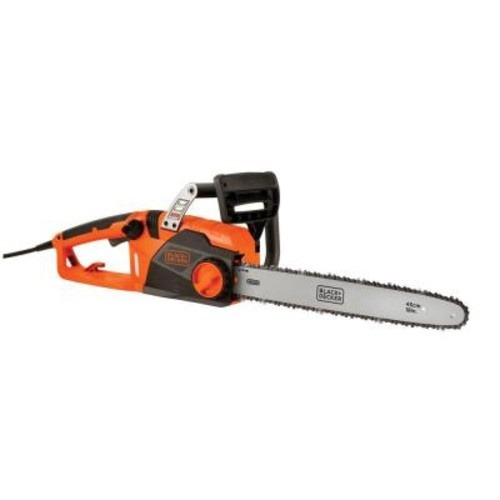 BLACK+DECKER 18 in. 15-Amp Corded Electric Chainsaw