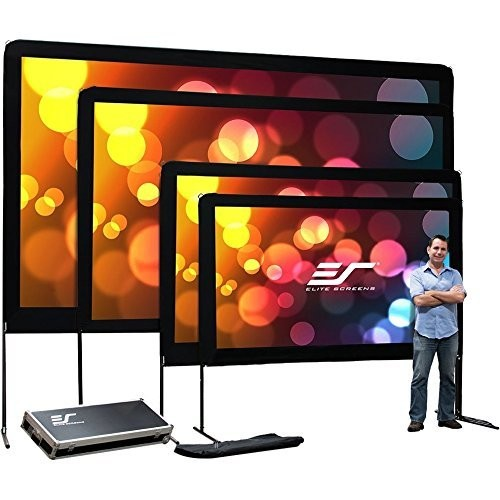 ELITE SCREENS Elite Screens Oms120h Outdoor Portable Light Weight Movie 120 Inch Screen (Carrying Bag Included)