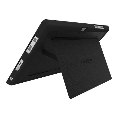 Trident Case Trident Aegis Series Business Case - Signature Edition - back cover for tablet - thermoplastic polyurethane, leather coating - black - for Microsoft Surface 3 (AG-MSSF03-BKSIG)