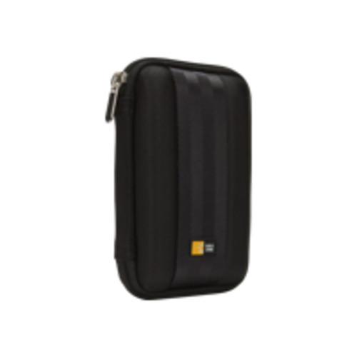 Case Logic QHDC-10BLACK Portable Hard Drive Case, Compact case to store or transport smaller portable hard drives, Slimline design a