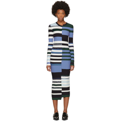OPENING CEREMONY Multicolor Space Dye Dress