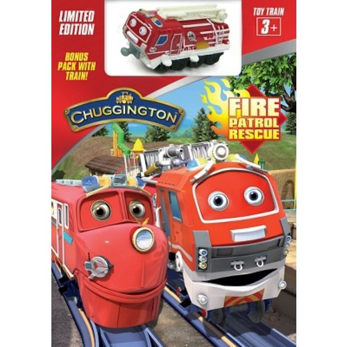 Chuggington: Fire Patrol Rescue [With Toy Train]