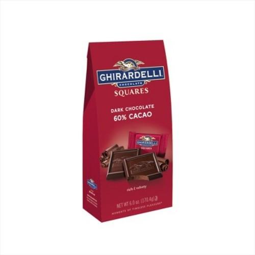 Ghirardelli Dark 60% Cacao Chocolate Squares - 5.25oz
