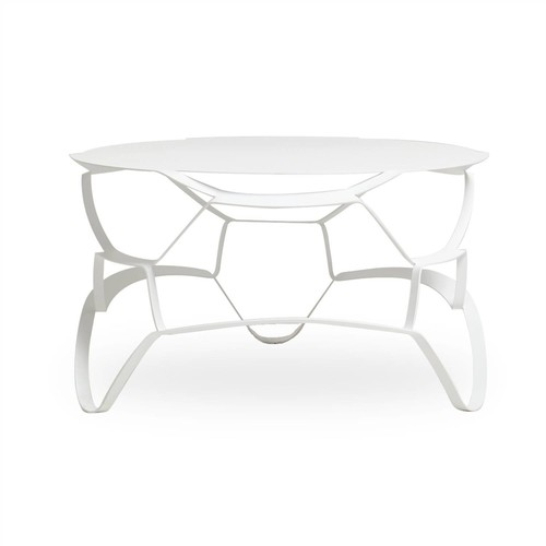 Meld Cocktail Table White