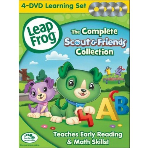 LeapFrog: The Complete Scout & Friends Collection [4 Discs] [DVD]