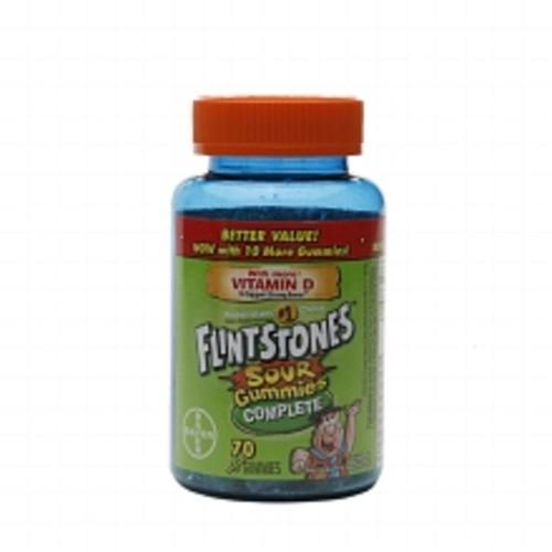 Flintstones Sour Gummies Complete