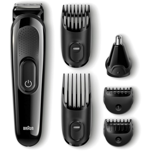 Braun - Beard, Hair, Ear and Nose Trimmer - Black