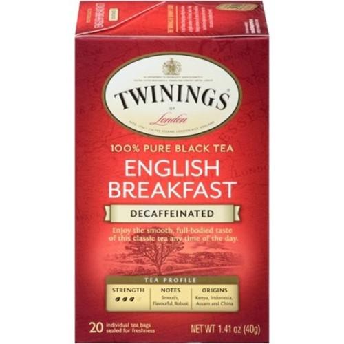 Twinings Decaffeinated English Breakfast Tea - 20ct