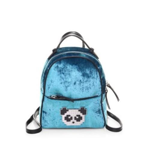 Baby Mick Velvet Backpack