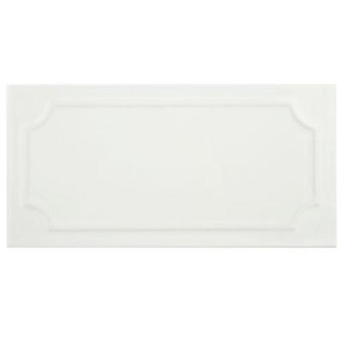 Merola Tile Santorini Blanco 4 in. x 8 in. Ceramic Wall Tile (10.76 sq. ft. / case)