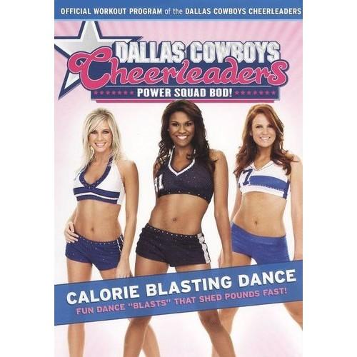 Dallas Cowboys Cheerleaders: Power Squad Bod! - Calorie Blasting Dance [DVD] [2009]