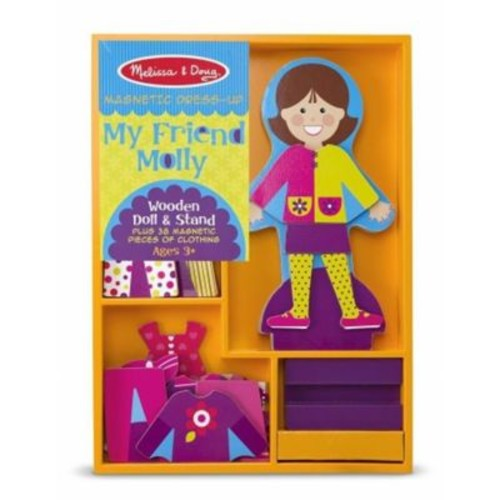 Melissa And Doug My Friend Molly - Magnetic Dress Up (MLSSAND1245)