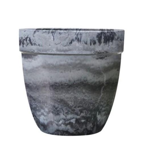 Griffith Creek Designs Fiber Clay Pot Planter; Grey