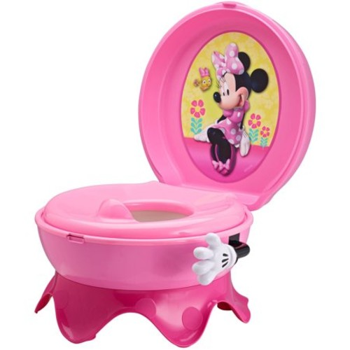 Disney Baby Minnie Mouse 3-in-1 Potty System (Colors/Styles May Vary)