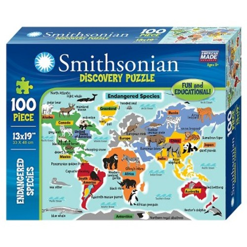Endangered Species 100pc Puzzle