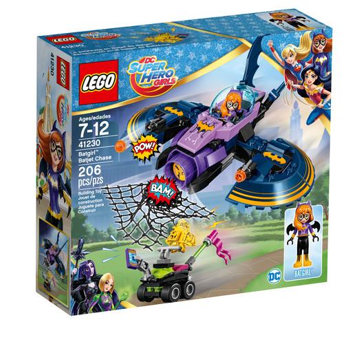 LEGO DC Super Hero Girls Batgirlu0026#8482; Batjet Chase #41230