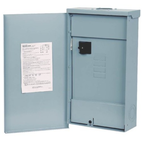 Siemens EQ 200 Amp 4-Space 8-Circuit Outdoor Mobile Home Main Breaker Load Center