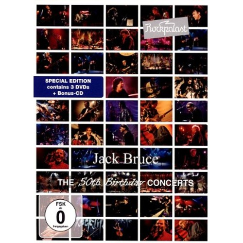 Jack Bruce: Rockpalast: The 50th Birthday Concerts (DVD)