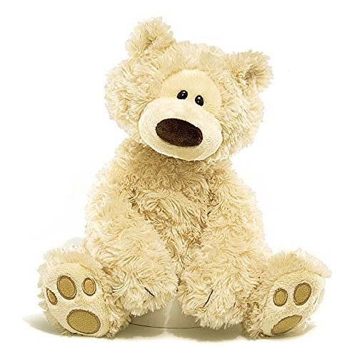 Gund Philbin Teddy Bear Stuffed Animal, 12 inches [Beige, 12