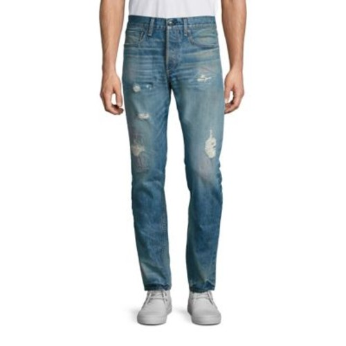 RAG & BONE Yuma Slim-Fit Distressed Jeans
