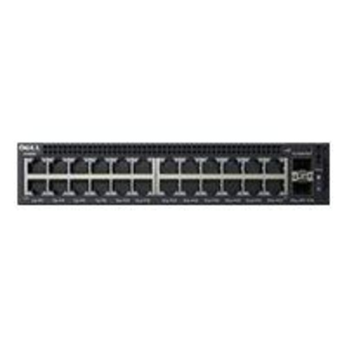 Dell X1026P Managed 26-Port Gigabit Ethernet Desktop PoE+ Switch, Black