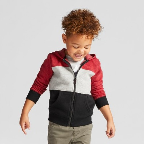 Toddler Boys' Jackets - Cat & Jack Red