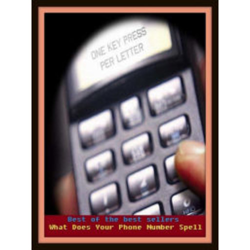 Best of the Best Sellers What Does Your Phone Number Spell ( relay, season, shift, term, trick, turn, shift, run, fit, go)