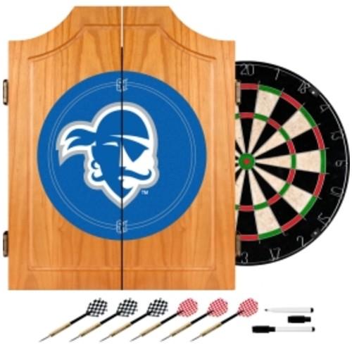 Trademark Games Seton Hall Pirates Dart Cabinet