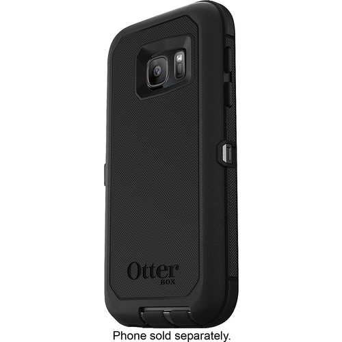 OtterBox - Defender Series Case for Samsung Galaxy S7 Cell Phones - Black