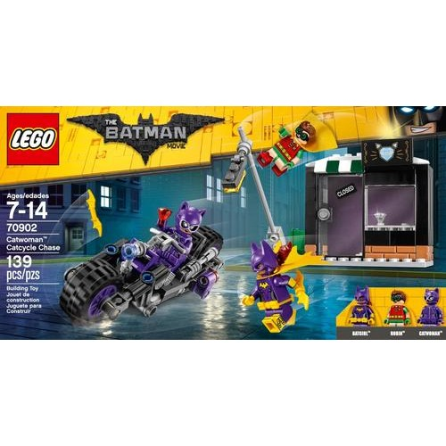 LEGO - The LEGO Batman Movie Catwoman Catcycle Chase