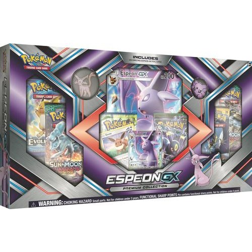 Pokemon - Premium Collection (Espeon-GX/Umbreon-GX) Trading Cards - Styles May Vary