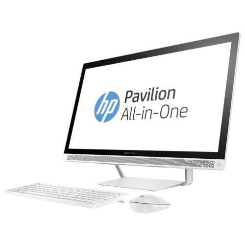 HP Pavilion 27-a241 All-in-One - 1 x Core i7 7700T / 2.9GHz, RAM 8GB, HDD 1TB, DVD-Writer, HD Graphics 630, Win 10 Home 64-bit, Monitor: LED 27