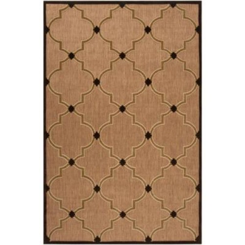 Artistic Weavers Mount Burbidge Dark Brown 8 ft. 8 in. x 12 ft. Indoor/Outdoor Area Rug