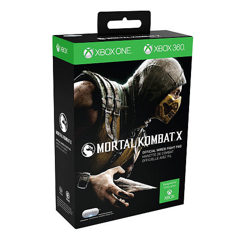 PDP Mortal Kombat Official Wired Fight Pad for Xbox One