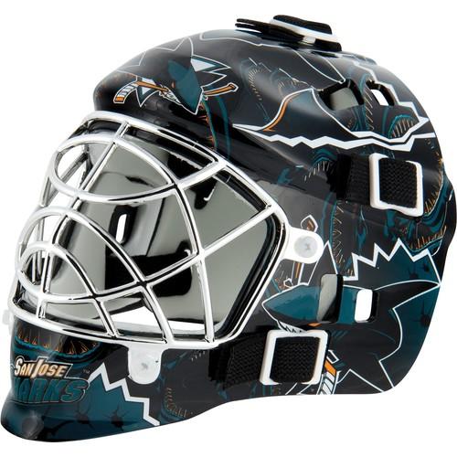 Franklin San Jose Sharks Mini Goalie Mask