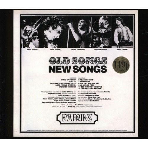 Songs, New Songs [CD]